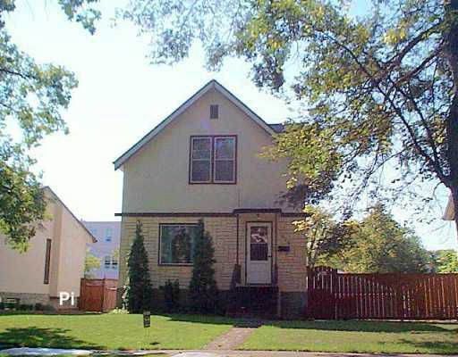 Main Photo: 206 KITSON Street in WINNIPEG: St Boniface Single Family Detached for sale (South East Winnipeg)  : MLS®# 2614991