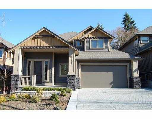 """Main Photo: 23143 PARKSIDE Crescent in Maple_Ridge: Silver Valley House for sale in """"ANDERSON CREEK ESTATES"""" (Maple Ridge)  : MLS®# V759966"""