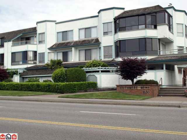 """Main Photo: 302 1830 E SOUTHMERE Crescent in Surrey: Sunnyside Park Surrey Condo for sale in """"Southmere Mews"""" (South Surrey White Rock)  : MLS®# F1017753"""