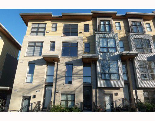 """Main Photo: 3806 COMMERCIAL Street in Vancouver: Victoria VE Townhouse for sale in """"BRIX"""" (Vancouver East)  : MLS®# V749610"""