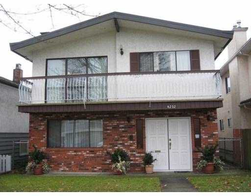 Main Photo: 4252 PENDER Street in Burnaby: Willingdon Heights House for sale (Burnaby North)  : MLS®# V779407