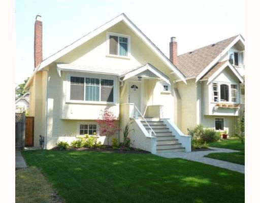 Main Photo: 3771 W KING EDWARD Avenue in Vancouver: Dunbar House for sale (Vancouver West)  : MLS®# V782678