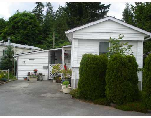 "Main Photo: 17 12868 229TH Street in Maple Ridge: East Central Manufactured Home for sale in ""ALOUETTE RETIREMENT MHP"" : MLS®# V770985"