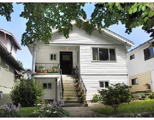 Main Photo: 2043 GRAVELEY Street in Vancouver: Grandview VE House for sale (Vancouver East)  : MLS®# V762556