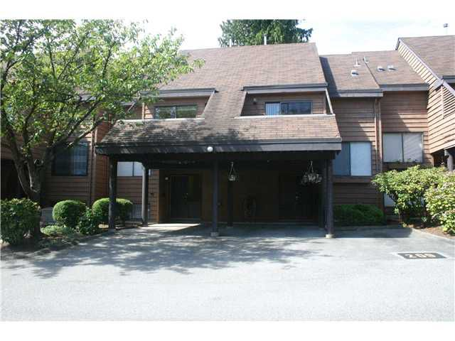 "Main Photo: 207 CORNELL Way in Port Moody: College Park PM Townhouse for sale in ""EASTHILL"" : MLS®# V847357"
