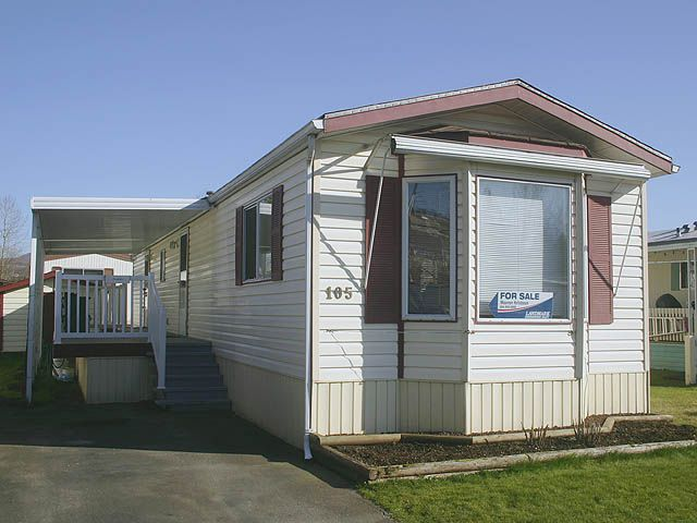"""Main Photo: # 105 3300 HORN ST in Abbotsford: Central Abbotsford Manufactured Home for sale in """"Georgian Park Estates"""" : MLS®# F1003137"""