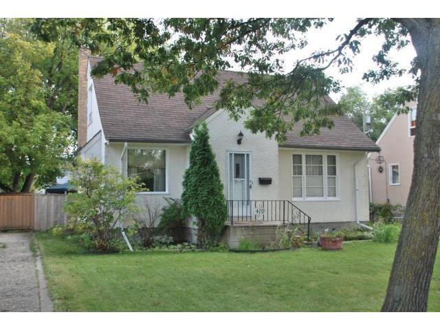 Main Photo: 419 TRURO Street in WINNIPEG: St James Residential for sale (West Winnipeg)  : MLS®# 1018302