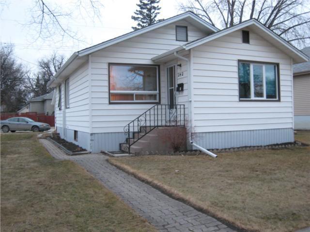 Main Photo: 242 Belvidere Street in WINNIPEG: St James Residential for sale (West Winnipeg)  : MLS®# 1004351