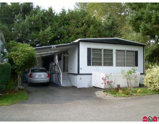 "Main Photo: 35 6571 KING GEORGE Highway in Surrey: West Newton Manufactured Home for sale in ""NEWTON PARK"" : MLS®# F2830256"