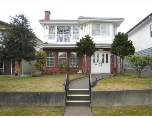Main Photo: 471 E 47TH Avenue in Vancouver: Fraser VE House for sale (Vancouver East)  : MLS®# V752690