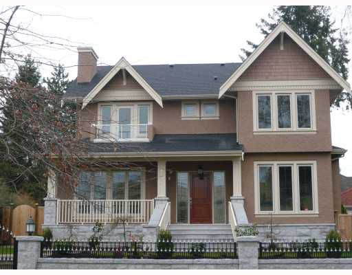 Main Photo: 6170 CYPRESS Street in Vancouver: South Granville House for sale (Vancouver West)  : MLS®# V758657