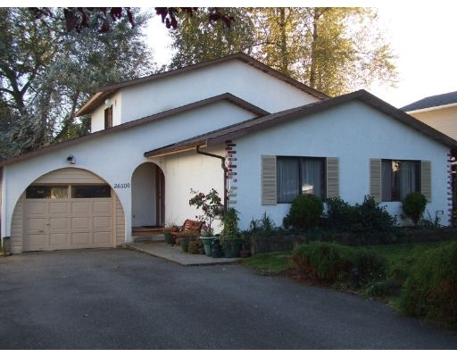 """Main Photo: 26500 32A Avenue in Langley: Aldergrove Langley House for sale in """"Parkside"""" : MLS®# F2907377"""