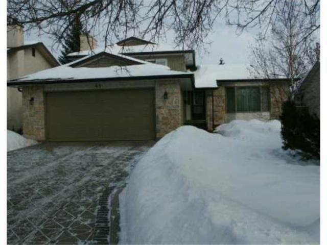 Main Photo: 67 DAYTON Drive in WINNIPEG: Windsor Park / Southdale / Island Lakes Residential for sale (South East Winnipeg)  : MLS®# 2700857