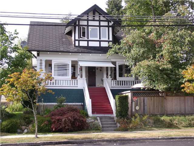 "Main Photo: 1523 8TH Avenue in New Westminster: West End NW House for sale in ""WEST END"" : MLS®# V847961"