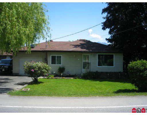 Main Photo: 7526 LICKMAN Road in Sardis: Greendale Chilliwack House for sale : MLS®# H2902045