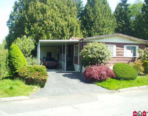 """Main Photo: 158 7790 KING GEORGE HY in Surrey: West Newton Manufactured Home for sale in """"Crispen Bays"""" : MLS®# F2609457"""