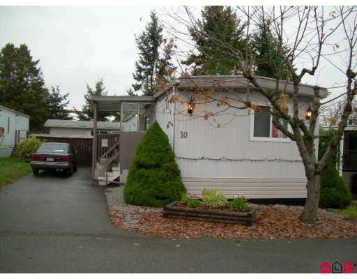 """Main Photo: 10 13650 80 Avenue in Surrey: Bear Creek Green Timbers Manufactured Home for sale in """"Leeside"""" : MLS®# F2832060"""