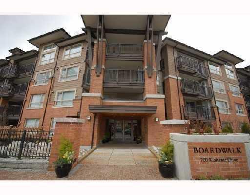 "Main Photo: 311 700 KLAHANIE Drive in Port_Moody: Port Moody Centre Condo for sale in ""BOARDWALK"" (Port Moody)  : MLS®# V753171"