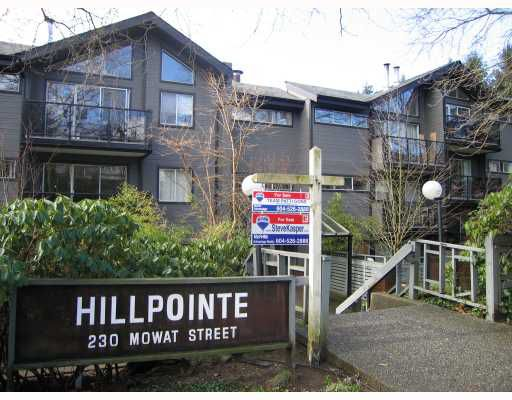 "Main Photo: 111 230 MOWAT Street in New_Westminster: Uptown NW Condo for sale in ""HILL POINTE"" (New Westminster)  : MLS®# V754987"