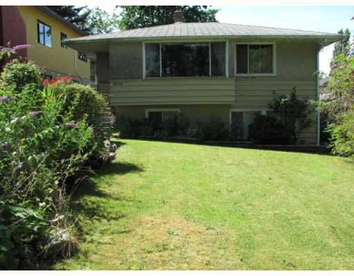 """Main Photo: 3549 GLADSTONE Street in Vancouver: Grandview VE House for sale in """"TROUT LAKE"""" (Vancouver East)  : MLS®# V778388"""