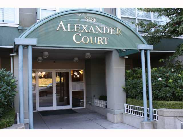 """Main Photo: 310 3488 VANNESS Avenue in Vancouver: Collingwood VE Condo for sale in """"ALEXANDER COURT"""" (Vancouver East)  : MLS®# V791667"""