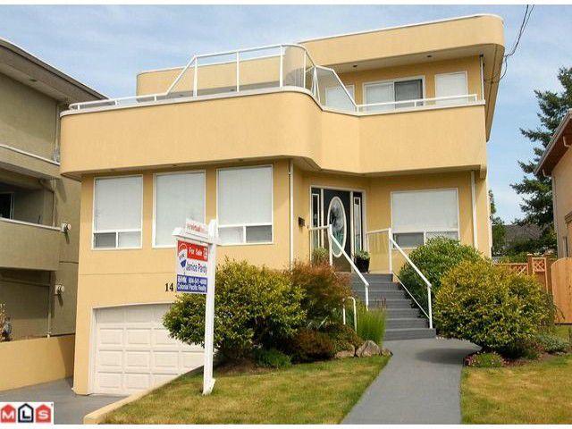 Main Photo: 14017 BLACKBURN Avenue: White Rock House for sale (South Surrey White Rock)  : MLS®# F1019739