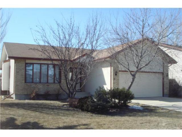 Main Photo: 2 Invermere Street in WINNIPEG: Fort Garry / Whyte Ridge / St Norbert Residential for sale (South Winnipeg)  : MLS®# 1004848