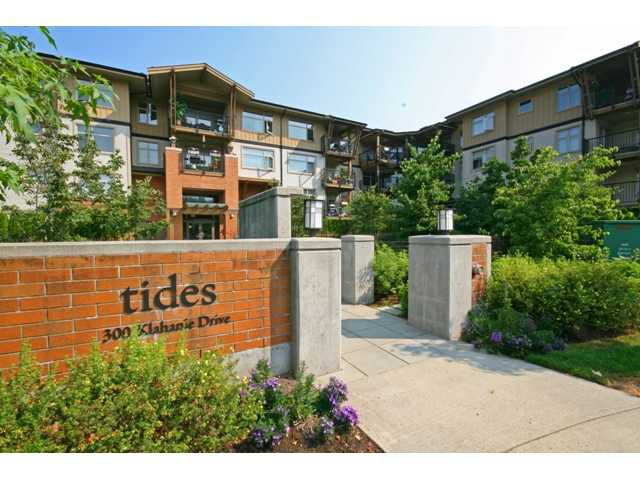 "Main Photo: 109 300 KLAHANIE Drive in Port Moody: Port Moody Centre Condo for sale in ""TIDES AT KLAHANIE"" : MLS®# V844855"