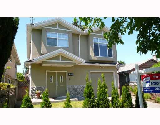 Main Photo: 4305 ELGIN Street in Vancouver: Fraser VE House for sale (Vancouver East)  : MLS®# V721397
