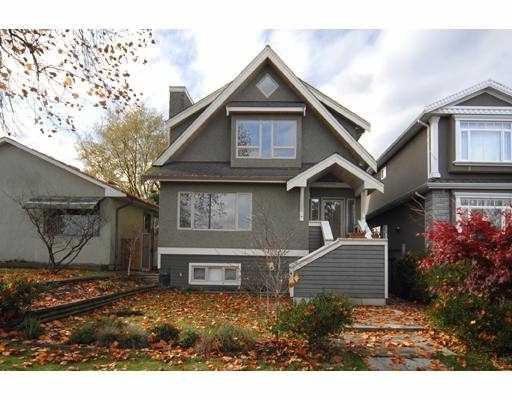 "Main Photo: 3983 GLENDALE Street in Vancouver: Renfrew Heights House for sale in ""RENFREW HEIGHTS"" (Vancouver East)  : MLS®# V744006"