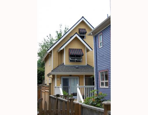 Main Photo: 14 W 13TH Avenue in Vancouver: Mount Pleasant VW House 1/2 Duplex for sale (Vancouver West)  : MLS®# V771658