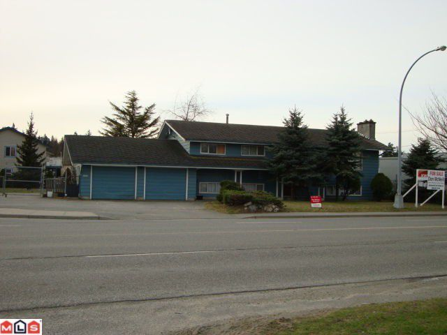 Main Photo: 30888 PEARDONVILLE Road in Abbotsford: Poplar House for sale : MLS®# F1100803