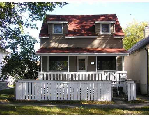 Main Photo: 835 ASHBURN Street in WINNIPEG: West End / Wolseley Residential for sale (West Winnipeg)  : MLS®# 2716747