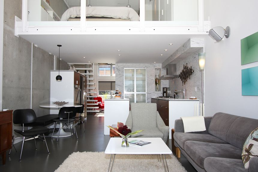 """Main Photo: 502 1529 W 6TH Avenue in Vancouver: False Creek Condo for sale in """"SOUTH GRANVILLE LOFTS"""" (Vancouver West)  : MLS®# V732517"""