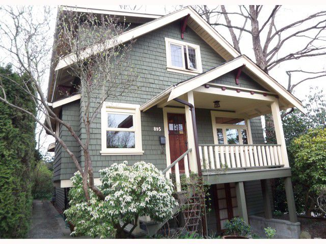 Main Photo: 895 E 14TH Avenue in Vancouver: Mount Pleasant VE House for sale (Vancouver East)  : MLS®# V817059