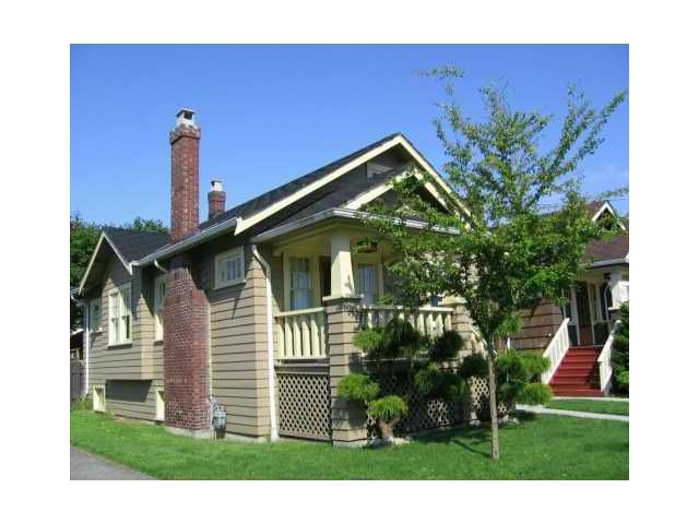 Main Photo: 915 10TH Street in New Westminster: Moody Park House for sale : MLS®# V820571