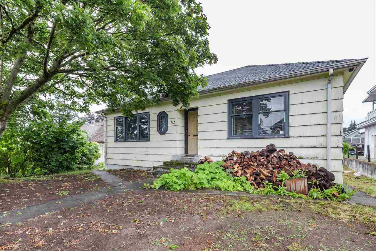 Main Photo: 712 EIGHTEENTH Street in New Westminster: West End NW House for sale : MLS®# R2388459