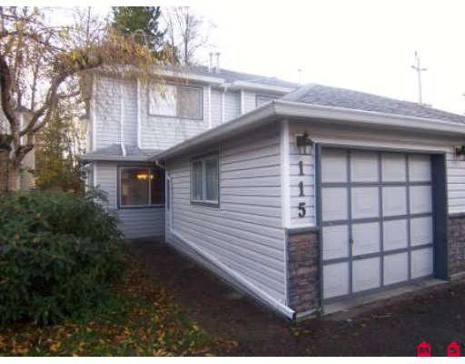 """Main Photo: 115 9507 208TH Street in Langley: Walnut Grove Townhouse for sale in """"YORKSON MANOR"""" : MLS®# F2831928"""