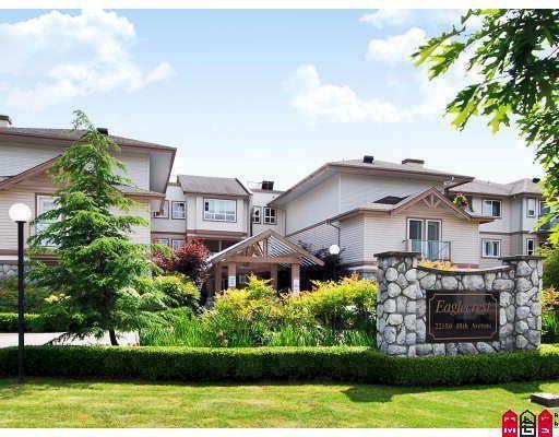 "Main Photo: 114 22150 48TH Avenue in Langley: Murrayville Condo for sale in ""EAGLECREST"" : MLS®# F2913451"