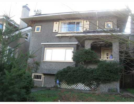 Main Photo: 3328 POINT GREY Road in Vancouver: Kitsilano House for sale (Vancouver West)  : MLS®# V809353