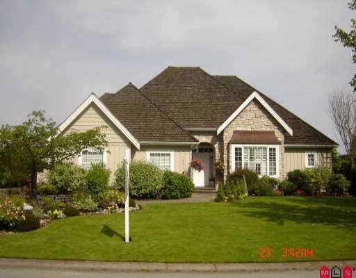 """Main Photo: 16377 MORGAN CREEK CR in Surrey: Morgan Creek House for sale in """"MORGAN CREEK"""" (South Surrey White Rock)  : MLS®# F2619809"""