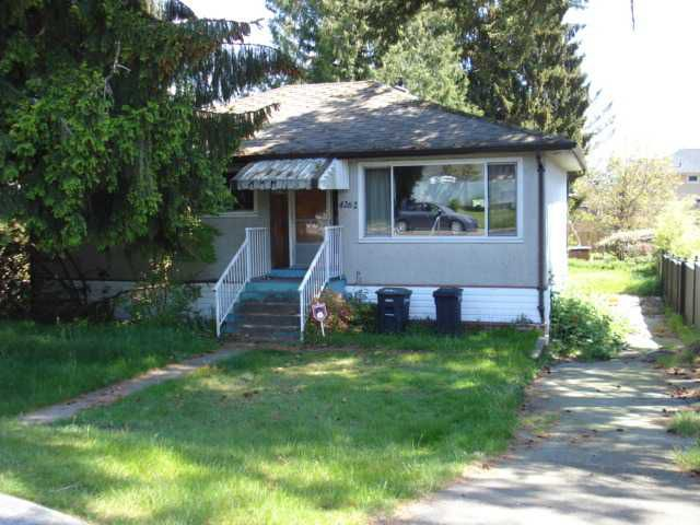 Main Photo: 4262 MACDONALD Avenue in Burnaby: Burnaby Hospital House for sale (Burnaby South)  : MLS®# V831058