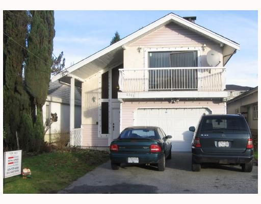 Main Photo: 2361 KELLY Avenue in Port Coquitlam: Central Pt Coquitlam House for sale : MLS®# V804800