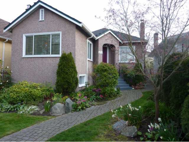 """Main Photo: 572 W 24TH Avenue in Vancouver: Cambie House for sale in """"DOUGLAS PARK"""" (Vancouver West)  : MLS®# V819469"""