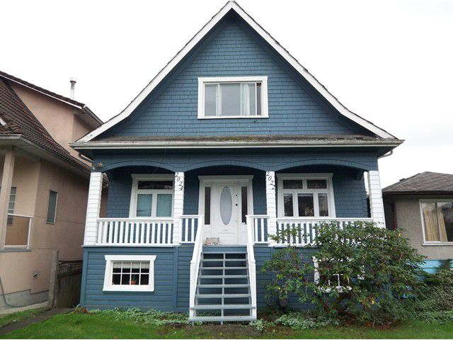 Main Photo: 2024 E 12TH Avenue in Vancouver: Grandview VE House for sale (Vancouver East)  : MLS®# V855091