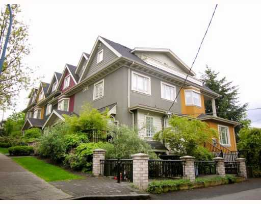 """Main Photo: 2251 CAROLINA Street in Vancouver: Mount Pleasant VE Townhouse for sale in """"CAROLINA ON 7TH"""" (Vancouver East)  : MLS®# V766943"""