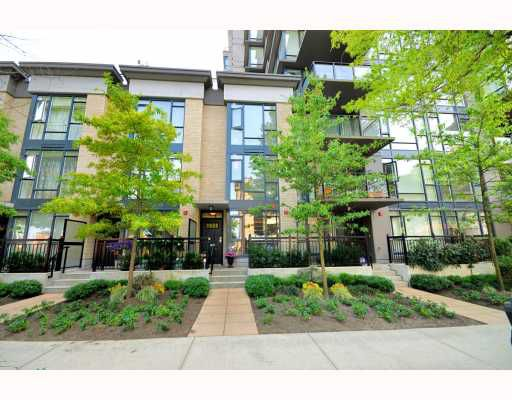 Main Photo: 1644 W 7TH Avenue in Vancouver: Fairview VW Townhouse for sale (Vancouver West)  : MLS®# V780920