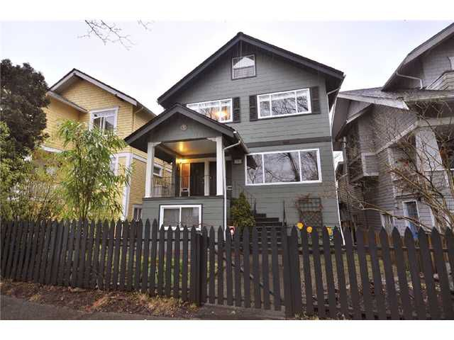 Main Photo: 249 E 24TH Avenue in Vancouver: Main House for sale (Vancouver East)  : MLS®# V865378