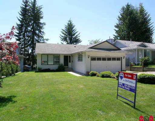 Main Photo: 33190 ROSE AV in Mission: Mission BC House for sale : MLS®# F2511775
