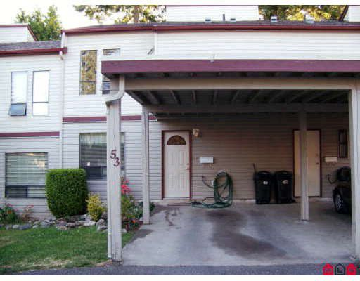 Main Photo: 53 32310 MOUAT Drive in Abbotsford: Abbotsford West Townhouse for sale : MLS®# F2823208